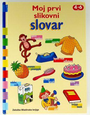 Moj prvi slikovni slovar 4 – 6 let