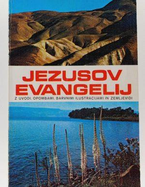 Jezusov evangelij z uvodi, opombami, barvnimi ilustracijami in zemljevidi