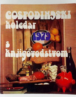 Gospodinjski koledar s knjigovodstvom 1979