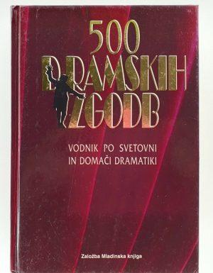 500 dramskih zgodb : vodnik po svetovni in domači dramatiki