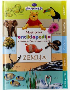 Moja prva enciklopedija z medvedkom Pujem in njegovimi prijatelji : Zemlja