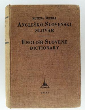 Angleško – Slovenski slovar English – Slovene dictionary