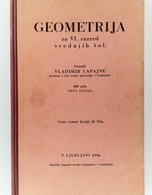 Geometrija za VI. razred srednjih šol