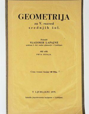 Geometrija za V. razred srednjih šol
