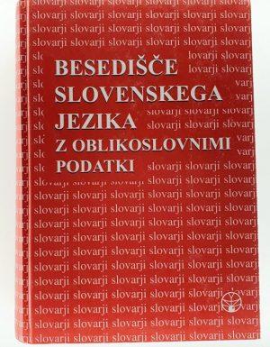 Besedišče slovenskega jezika z oblikoslovnimi podatki