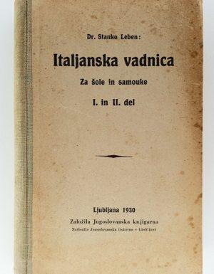 Italjanska vadnica za šole in samouke 1. in 2. del