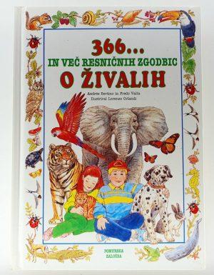 366 in več resničnih zgodbic o živalih